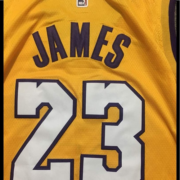 pretty nice 65338 c8745 Lebron James Nike Lakers NBA Jersey NEW NWT